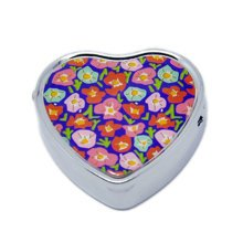 Pill Box For Pocket or Purse/ Multifunction Small Jewel Box Case  S