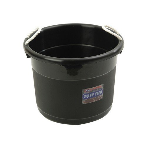 Curver 165245 Tuff Tub - Black 39 Litre