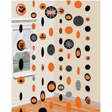 Halloween Paper Strings Decorations 1.8m
