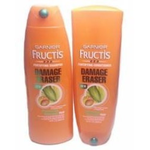 Garnier Fructis Damage Eraser Distressed Damaged Hair Duo