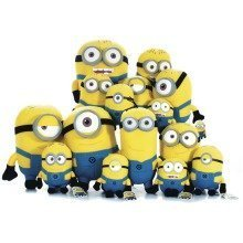 Minions Soft Toy Tombola Game - Full Set
