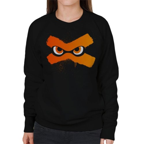Splat Eyes Splatoon Women's Sweatshirt