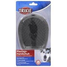 Trixie Massage Glove - Cat Dog Pet Double Sided 2334 -  glove massage trixie cat dog pet double sided 2334