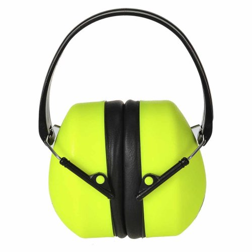 sUw - Super HV Ear Protector Defenders Muffs Yellow Regular
