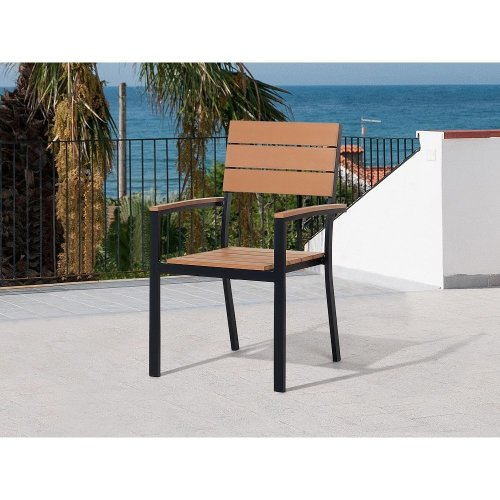 Garden Chair - Patio Chair - Outdoor Chair - Brown - COMO