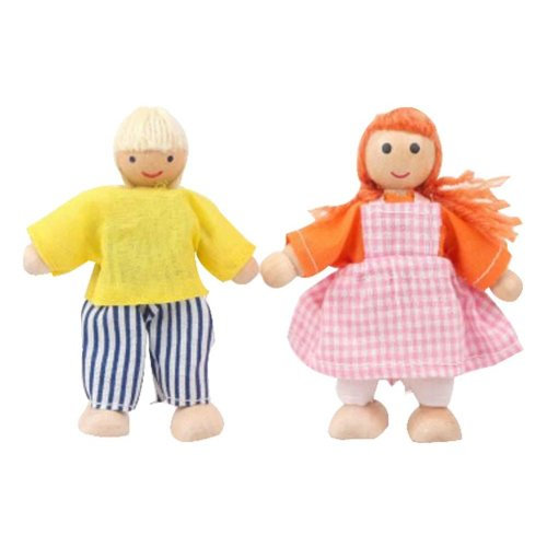 Mini Lovely Kids Model Dolls Play House Toys Children Role Playing Dolls Toys
