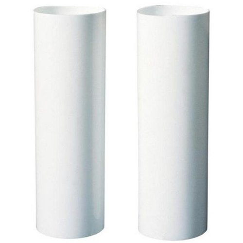 Westinghouse 7037100 Two 4 in. Medium Base Socket Covers, White - Pack of 6
