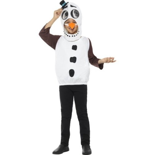 Smiffyu0027s 48073l Snowman Costume With Tabard Carrot Nose (large) - snowman costume kids cute nativity xmas fancy dress oufit boys girls childrens  sc 1 st  OnBuy & Smiffyu0027s 48073l Snowman Costume With Tabard Carrot Nose (large ...