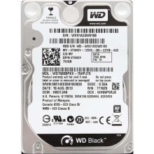 750Gb WD Black 7200rpm SATA3 2.5In Hard Drive