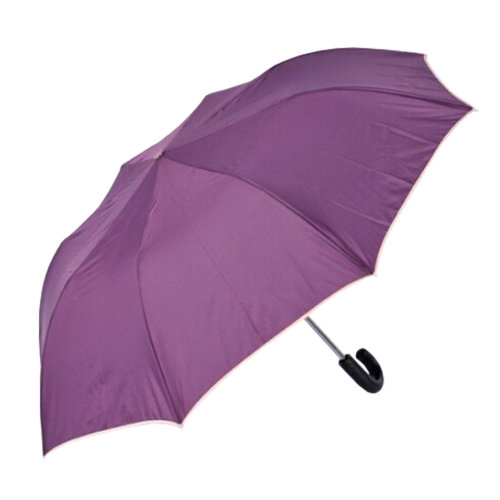 Summer Rainy Day Protector 2 Folding Umbrella Anti Uv Sun Purple On