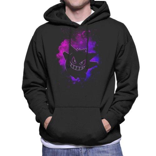 Soul Of The Ghost Gengar Pokemon Men's Hooded Sweatshirt