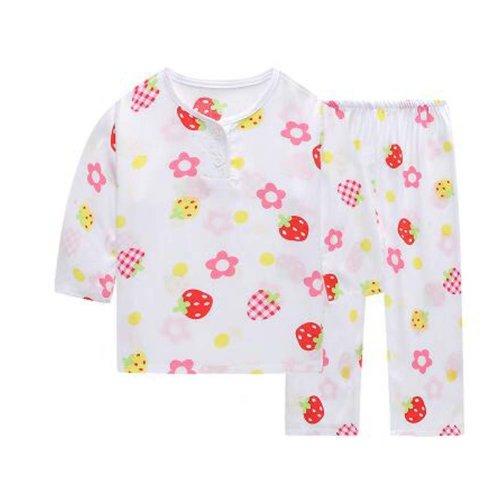 Little Girls' Cute Pajamas Cotton Kids Clothes Short Sets Children Sleepwear