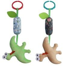 Handmade Baby Room Decor Stroller Toys, 2PCS, [Dinosaur] Baby Gift