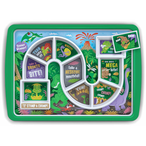 Dinner Winner Dinosaur Plate - Children's Food Tray