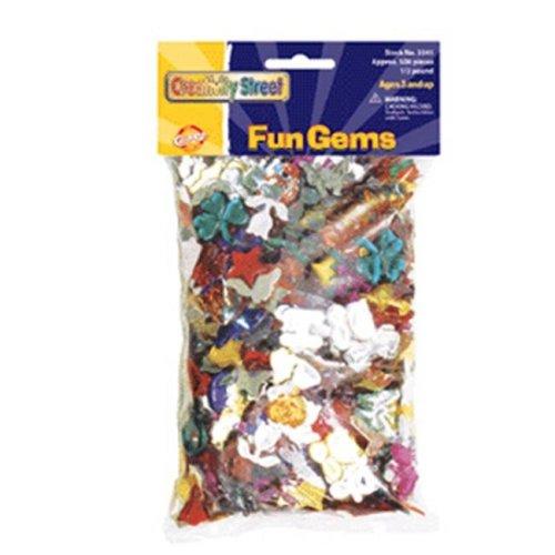 CHENILLE KRAFT COMPANY Fun Gems Art Paper CK-3541