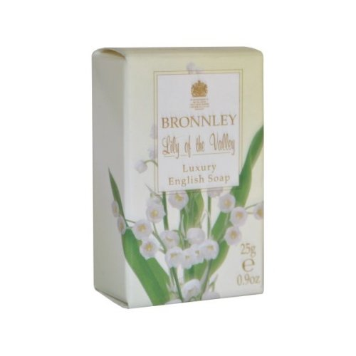 Bronnley Lily of the Valley Luxury English Soap 25g
