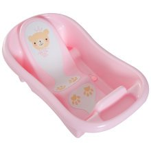 HOMCOM Baby Bath Tub, 88Lx49Wx28H cm-Pink