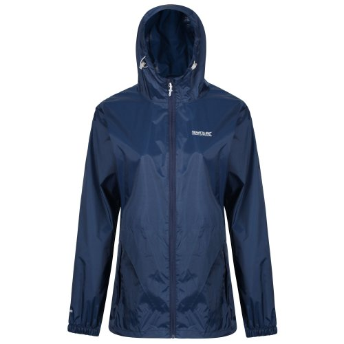 Regatta Womens Pack It III Waterproof Shell Jacket, Midnight, Size 12