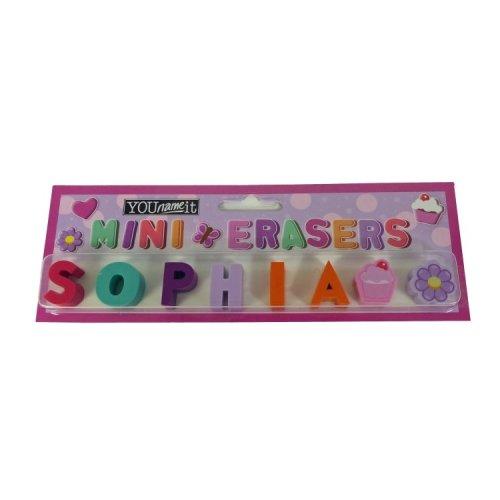 Childrens Mini Erasers - Sophia