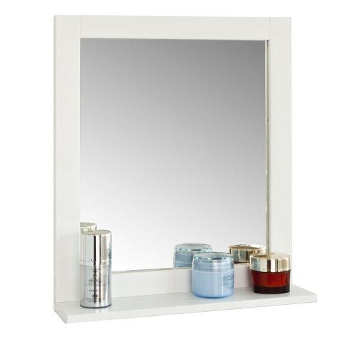 SoBuy® FRG129-W, Wall Mounted Bathroom Mirror with Shelf