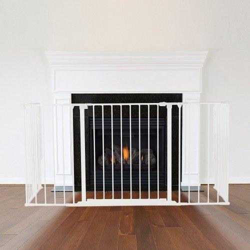 Safetots Multi Panel Fire Surround White