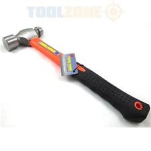 Toolzone 16oz Fibre Handle Ball Pein Hammer