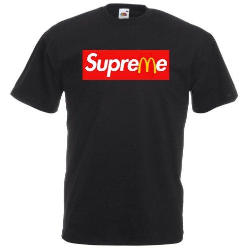 Supreme Mcdonalds Logo Adult T-shirt