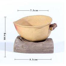 Kung Fu Tea Accessories/China Ceramic Tea Set Tea Mesh Strainer (Heart Shape)