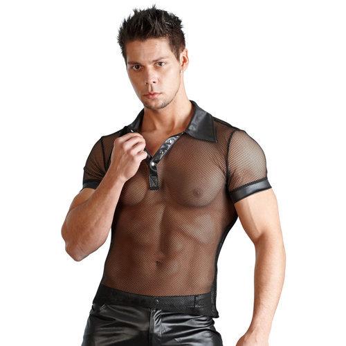 Men's shirt Wetlook Large Men's Lingerie Shirts - Svenjoyment Underwear