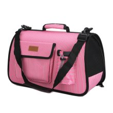 Pet Carrier Soft Sided Travel Bag for Small dogs & cats- Airline Approved #52