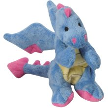 goDog Dragons with Chew Guard Small-Periwinkle