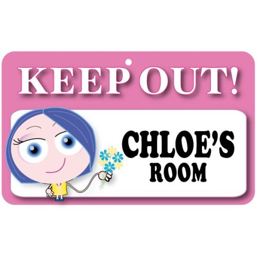 Keep Out Door Sign - Chloe's Room
