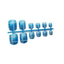 2 Boxes of DIY Wedding Designed False Toenails/nails,Blue