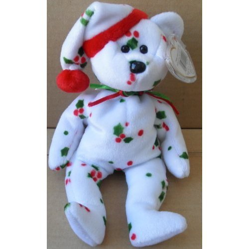 15e31d523ae TY Beanie Babies 1998 Holiday Teddy Bear Plush Toy Stuffed Animal on OnBuy