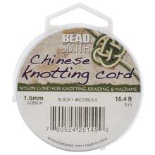 Chinese Knotting Cord 1.5mmX16.4'-Black