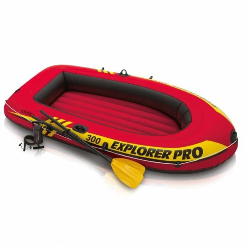Intex 58358 Explorer Pro 300 Rubber Dinghy Inflatable Raft