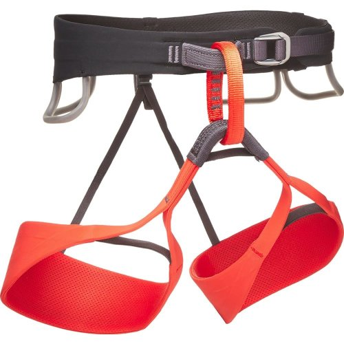 Black Diamond Womens Solution Climbing Harness Octane/Black (Large)