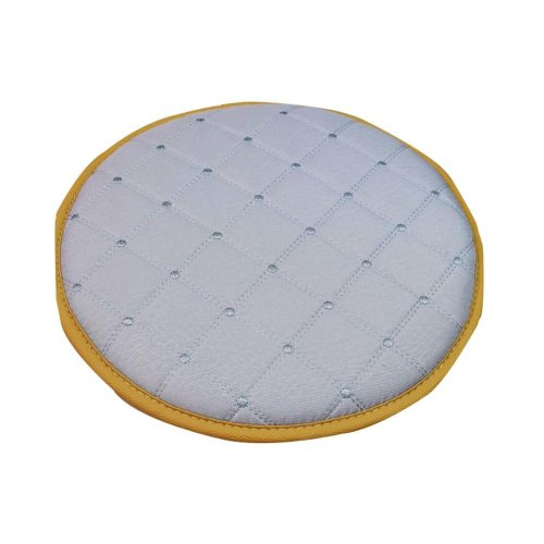 Comfortable Round Chair Cushion Practical Chair Pads, Light Gray