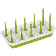 Plastic Dish Rack Kitchen Compartment Tray Tea Cup Rack Sink Drainer