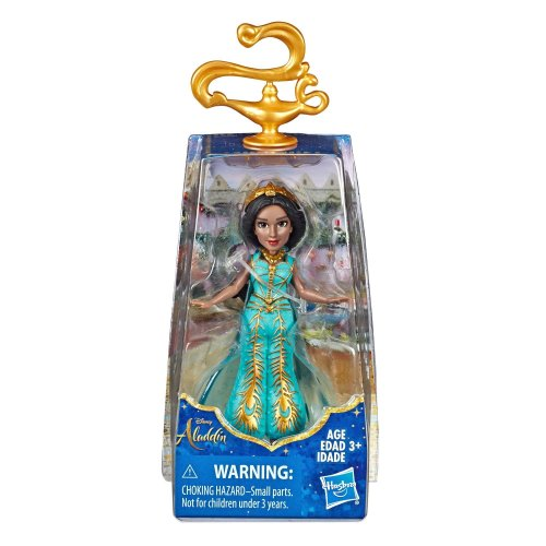 Disney Collectible Princess Jasmine Small Doll in Teal Dress