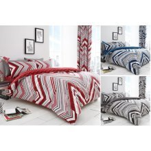 Austin Striped Duvet Cover Set