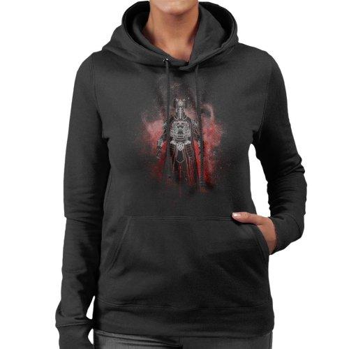Thulsa Doom Silhouette Conan The Barbarian Women's Hooded Sweatshirt