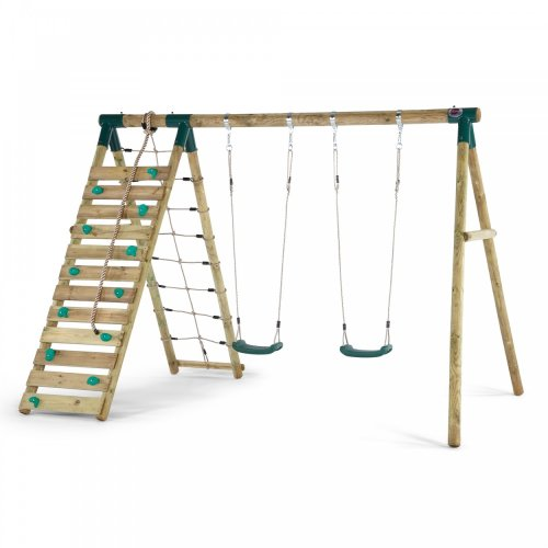 Plum Plum Uakari Wooden Garden Swing and Climbing Frame