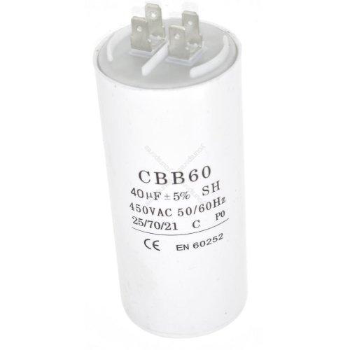 Universal 40UF Microfarad Appliance Motor Start Run Capacitor