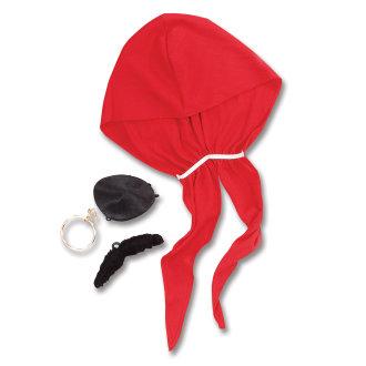 Bristol Novelty Pirate Costume Accessories Kit