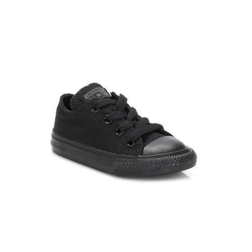 Converse Infant Black Monochrome All Star Low Trainers