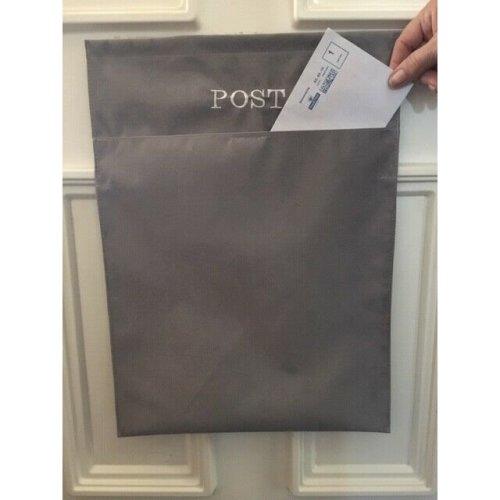 (Grey) Mail Catcher Letter Box Bag   Letter Catcher Bag