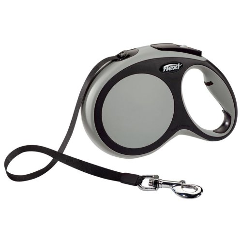Flexi Tape Leash New Comfort Size L 8 m Grey 21371