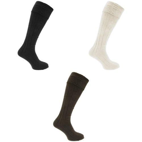 Floso Mens Mountain Trek Woollen Socks (1 Pair)