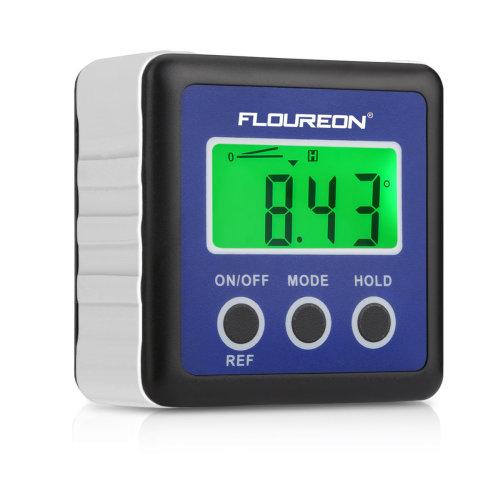 Digital LCD Angle Gauge Bevel Box Level Inclinometer Protractor Meter